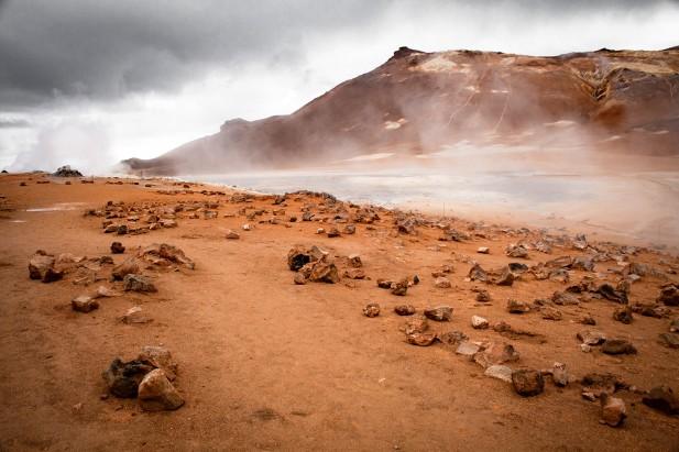 Surreal: Das Solfatarenfeld Namafjall Hverir