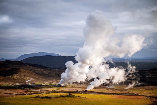 Vulkansystem Krafla: Herz der Myvatn Region