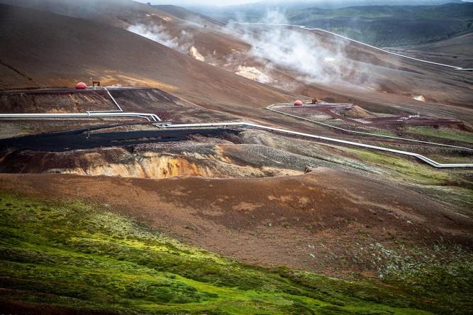 Volcaniv system Krafla: Heart of Myvatn Region